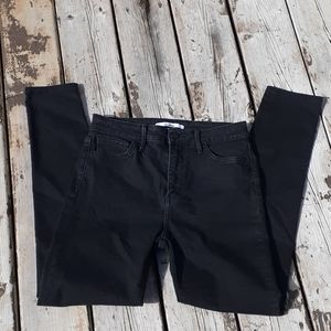 Sam Edelman black skinny jeans stretchy comfort